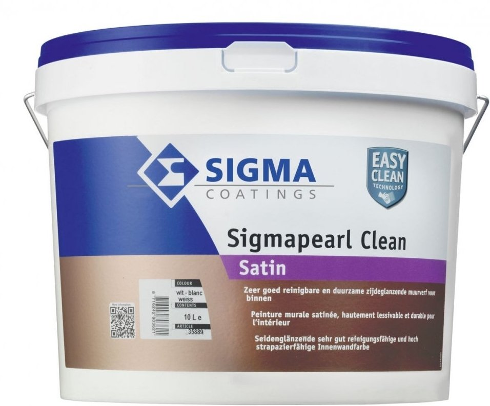 Sigma Coatings - sigmapearl-clean-satin-verfcompleet.nl
