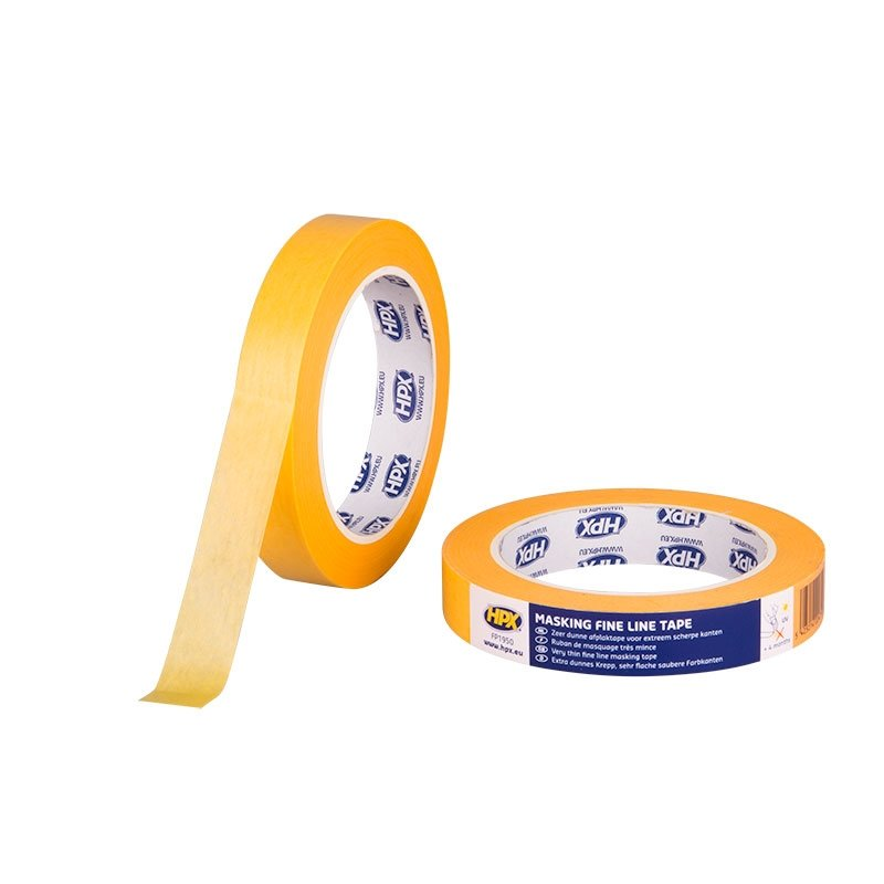 HPX Tape - FP1950-Gold_Masking_tape_4400-orange-19mm_x_50m-5425014224719-HPX