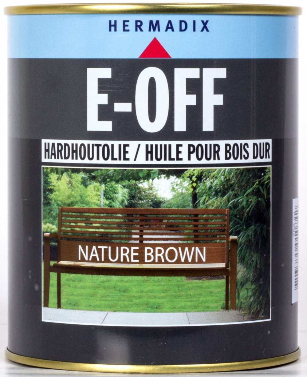 Houtolie - e-off-nature-brown-verfcompleet